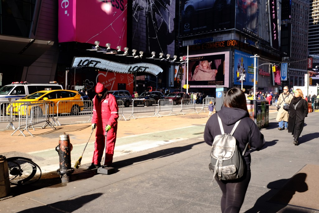 Broadway near Times Square