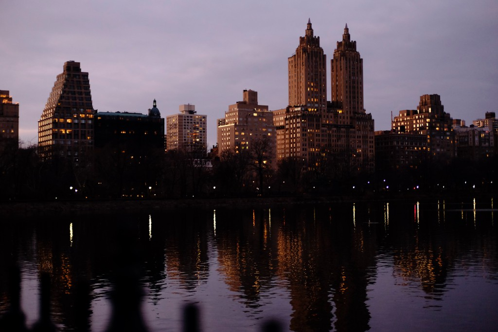 Central Park West and The Lake