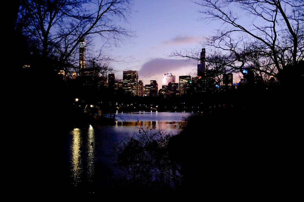 Central Park South and The Pond