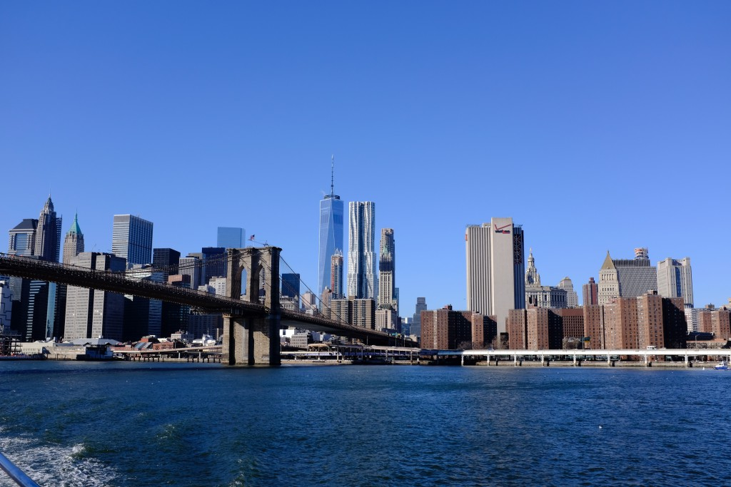 South Manhattan and Brooklyn Bridge
